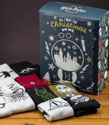 Calendrier de l'avent chaussettes Harry Potter,  Harry Potter, Boutique Harry Potter, The Wizard's Shop
