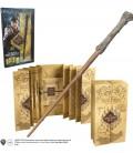 Baguette Harry Potter et carte du Maraudeur sous Blister