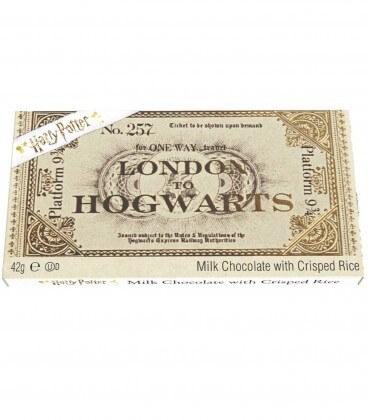 Ticket Poudlard Express en Chocolat Harry Potter,  Harry Potter, Boutique Harry Potter, The Wizard's Shop