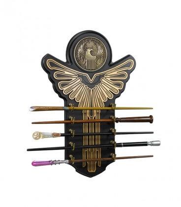 Présentoir Macusa et collection de 5 baguettes - Animaux Fantastiques,  Harry Potter, Boutique Harry Potter, The Wizard's Shop