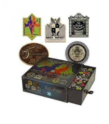 Puzzle Les enseignes du Chemin de Traverse,  Harry Potter, Boutique Harry Potter, The Wizard's Shop