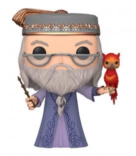 Figurine POP! N°110 Dumbledore avec Fumseck,  Harry Potter, Boutique Harry Potter, The Wizard's Shop