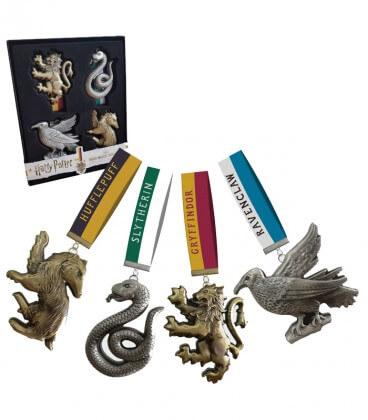 Pack d'ornements des 4 maisons - Harry Potter,  Harry Potter, Boutique Harry Potter, The Wizard's Shop