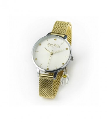 Quick Gold Watch With Swarovski Crystals Harry Potter