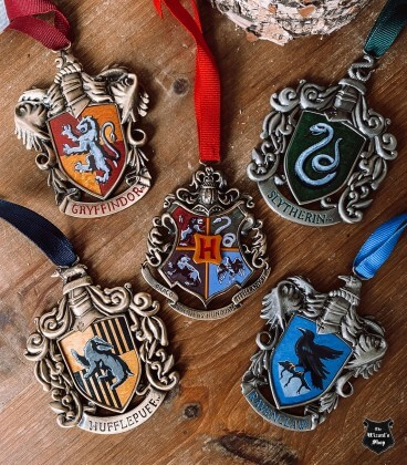 Harry Potter Decorations Pack Hogwarts Trees 5 pieces