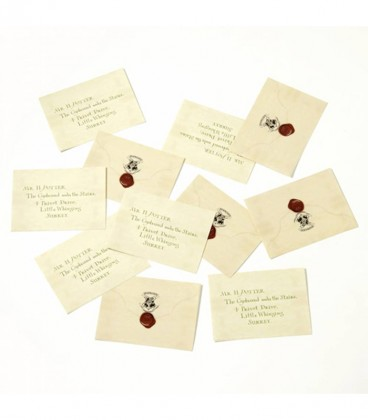 Letter of Admission to Hogwarts - 12 decorative stickers