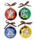 4 Christmas tree decoration balls