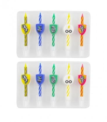 Harry potter logo 10 birthday candles set