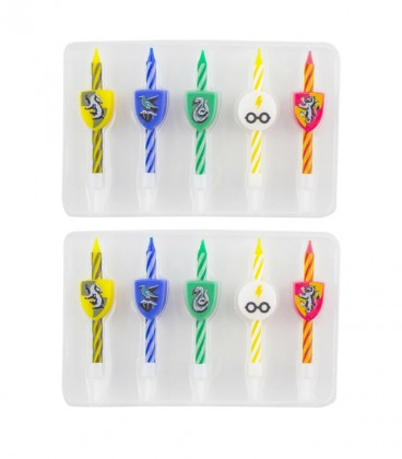 Set 10 bougies Anniversaire logo Harry potter,  Harry Potter, Boutique Harry Potter, The Wizard's Shop