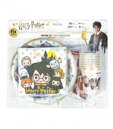 Pack anniversaire Harry Potter Kawaii,  Harry Potter, Boutique Harry Potter, The Wizard's Shop