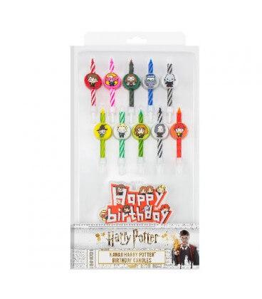 Set of 10 Kawaii Harry Potter birthday candles