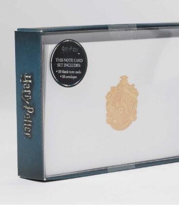 10 Cartes et Enveloppes de Luxe Poufsouffle