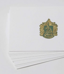 10 Cartes et Enveloppes de Luxe Serpentard