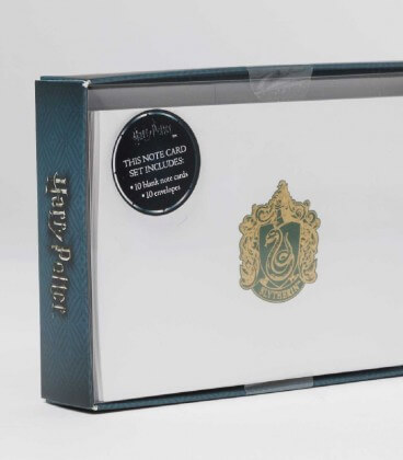 10 Slytherin Deluxe Cards and Envelopes