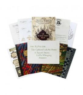 Lot de 20 cartes postales Série Poudlard