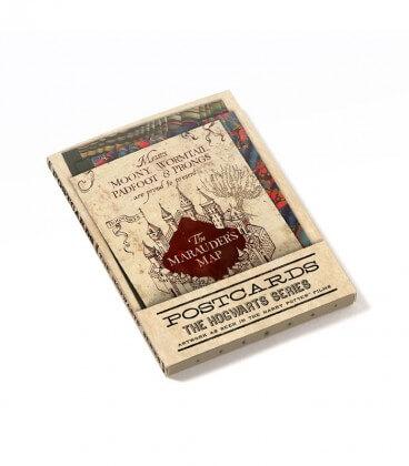 Lot de 20 cartes postales Série Poudlard,  Harry Potter, Boutique Harry Potter, The Wizard's Shop