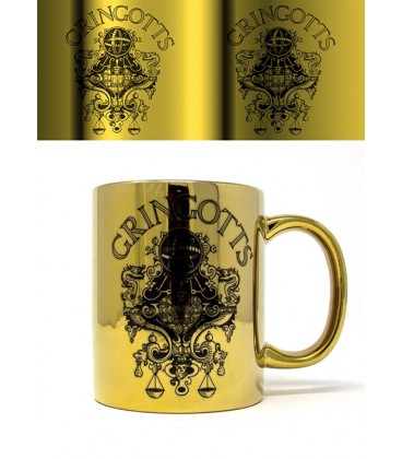 Mug Gringotts,  Harry Potter, Boutique Harry Potter, The Wizard's Shop