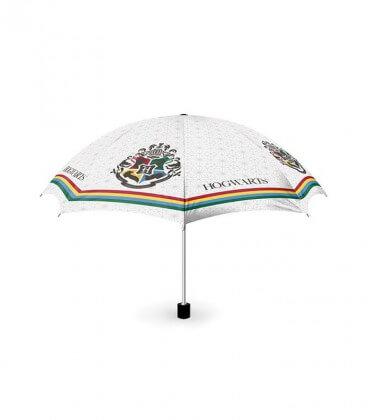 Parapluie Poudlard Rayures,  Harry Potter, Boutique Harry Potter, The Wizard's Shop