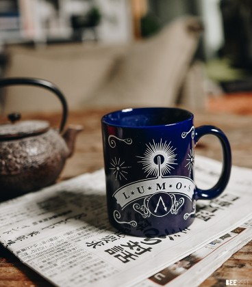 Mug Lumos Phosphorescent,  Harry Potter, Boutique Harry Potter, The Wizard's Shop