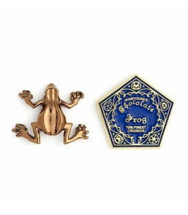 Pin's Chocogrenouille,  Harry Potter, Boutique Harry Potter, The Wizard's Shop