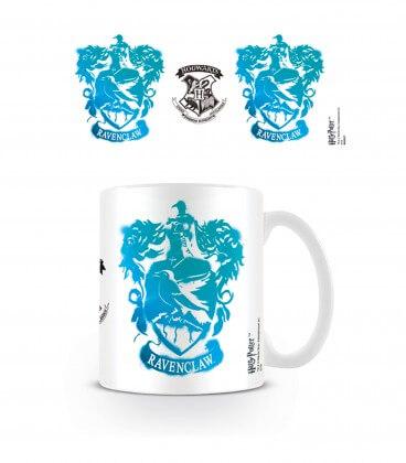 Mug Ecusson Serdaigle Tie and Dye Blanc,  Harry Potter, Boutique Harry Potter, The Wizard's Shop