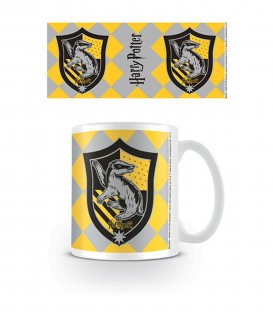 Mug Ecusson Poufsouffle,  Harry Potter, Boutique Harry Potter, The Wizard's Shop