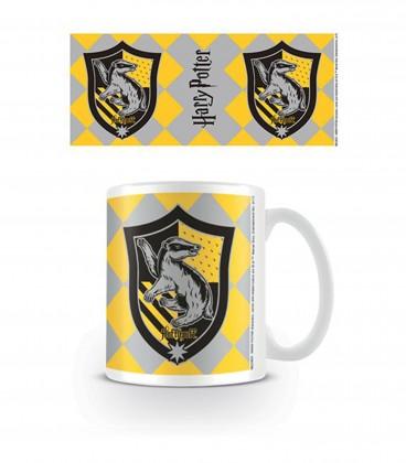 Hufflepuff badge mug