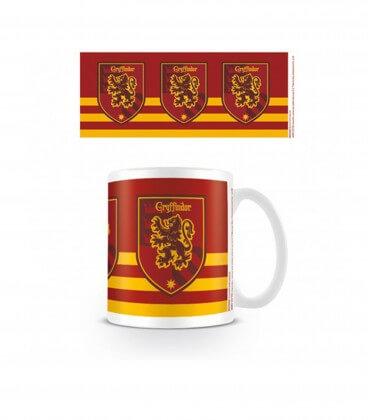 Mug Maison Gryffondor Rayé,  Harry Potter, Boutique Harry Potter, The Wizard's Shop