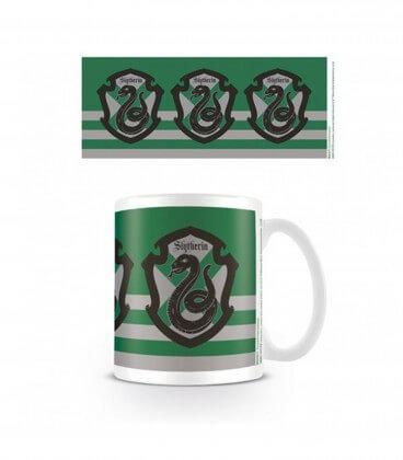 Mug Ecusson Serpentard Rayé,  Harry Potter, Boutique Harry Potter, The Wizard's Shop
