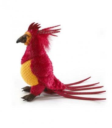 Plush Fawkes the Phoenix