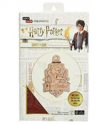 Décoration en bois Gryffondor,  Harry Potter, Boutique Harry Potter, The Wizard's Shop