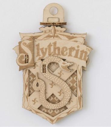 Décoration en bois Serpentard,  Harry Potter, Boutique Harry Potter, The Wizard's Shop