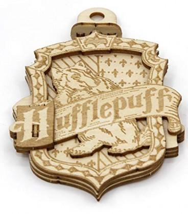HP Hufflepuff Wood Decoration