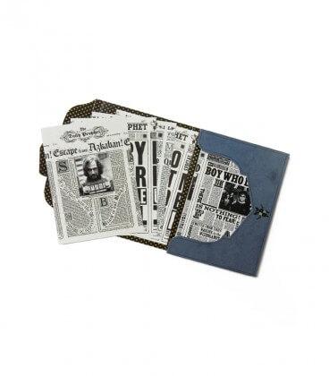 Lot de 20 cartes postales the Daily Prophet,  Harry Potter, Boutique Harry Potter, The Wizard's Shop