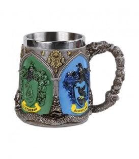 Hogwarts Houses Polyresin Metal Mug