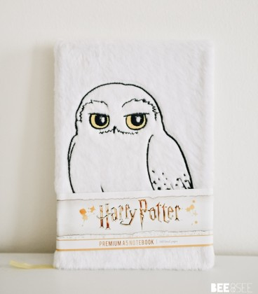 Carnet A5 Fluffy Hedwige Harry Potter,  Harry Potter, Boutique Harry Potter, The Wizard's Shop