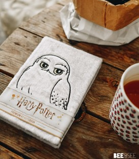 Carnet A5 Fluffy Hedwige Harry Potter,  Harry Potter, Boutique Harry Potter, The Wizard's Shop