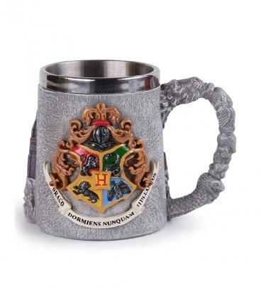 Mug Polyrésine Métal Ecole Poudlard,  Harry Potter, Boutique Harry Potter, The Wizard's Shop