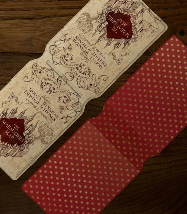 Porte Cartes Carte des Maraudeurs,  Harry Potter, Boutique Harry Potter, The Wizard's Shop