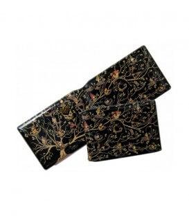 Black Family Tapestry Card Holder