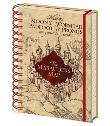 Harry Potter The Marauder Map A5 Notebook