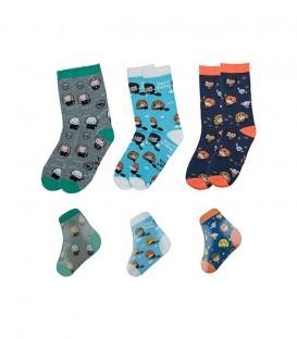 Magic compressed socks set of 3