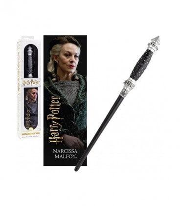 Baguette magique & Marque-page Narcissa Malfoy 30 cm,  Harry Potter, Boutique Harry Potter, The Wizard's Shop