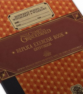 Cahier d'Exercices de Gryffondor,  Harry Potter, Boutique Harry Potter, The Wizard's Shop