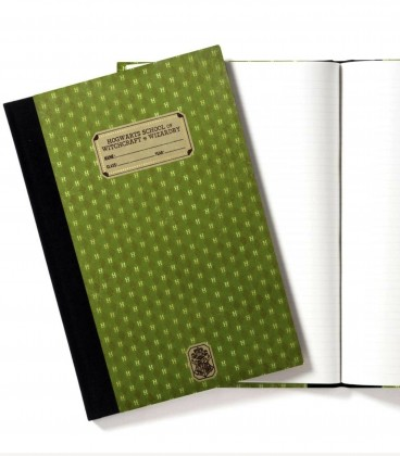 Cahier d'Exercices de Serpentard,  Harry Potter, Boutique Harry Potter, The Wizard's Shop