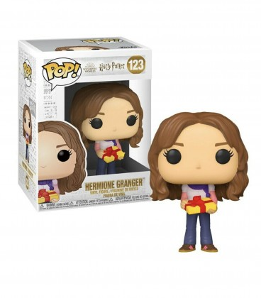 Figurine POP! Holiday Hermione Granger n°123,  Harry Potter, Boutique Harry Potter, The Wizard's Shop