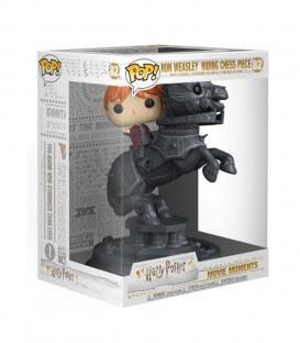 Figurine POP! N°82 Movie Moment Ron Weasley sur pièce d'échec