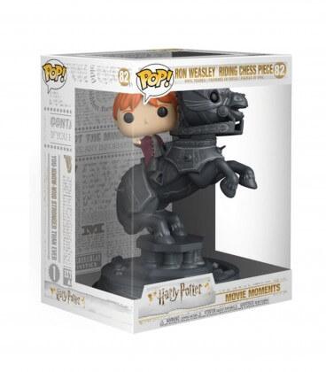 Figurine POP! N°82 Movie Moment Ron Weasley sur pièce d'échec,  Harry Potter, Boutique Harry Potter, The Wizard's Shop