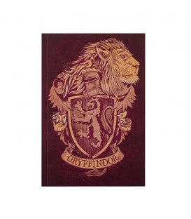 Carnet Gryffondor 128 pages - Harry Potter