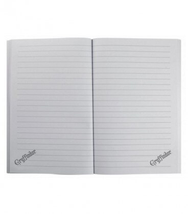 Gryffindor Notebook 128 pages - Harry Potter